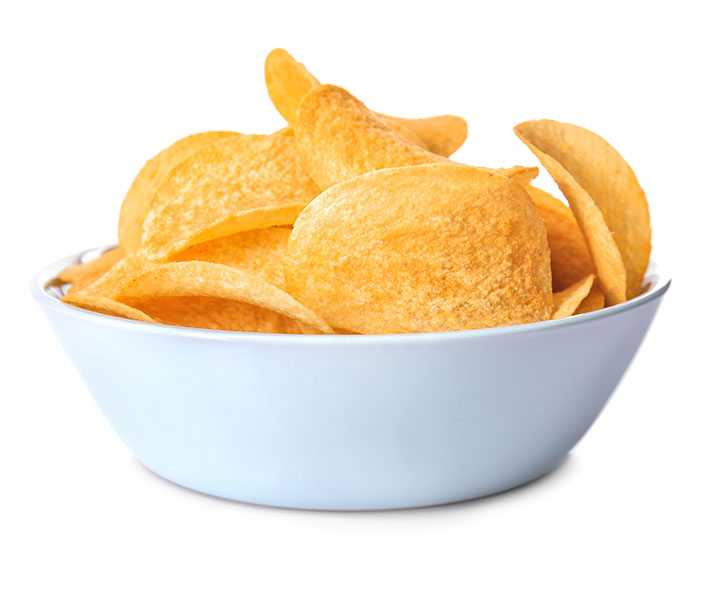 Barbeque-Chips